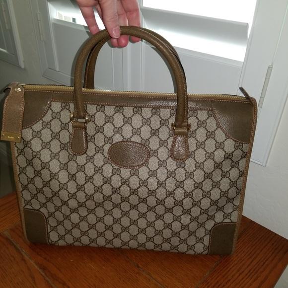 585dab18d6db Gucci Bags | Mint Vintage Duffel Travel Bag | Poshmark